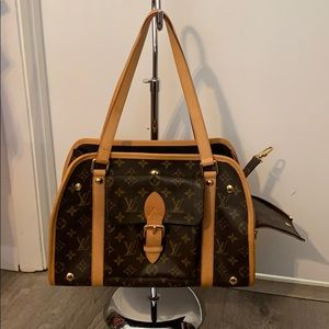 Luis Vuitton Small Dog Carrier GM